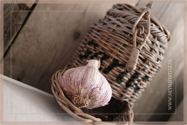 Garlic mand rotan