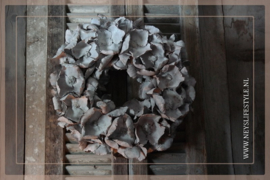 Krans palm cup| whitewash | 38 cm