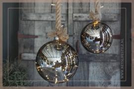 Hanger touw met LED bal | S