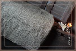 Plaid katoen geweven   bruin