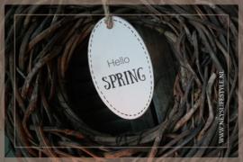 Hello Spring bordje