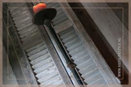 Vloer kandelaar 71 cm | zwart