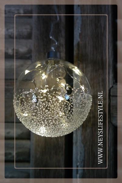 Bal glas LED | M