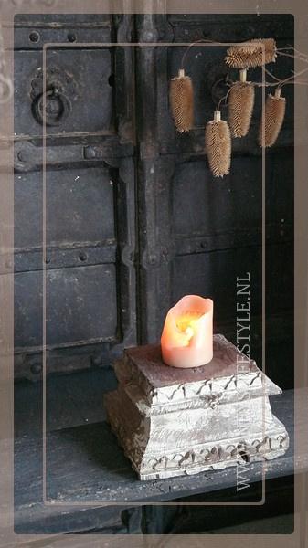 Houten poer India | 2