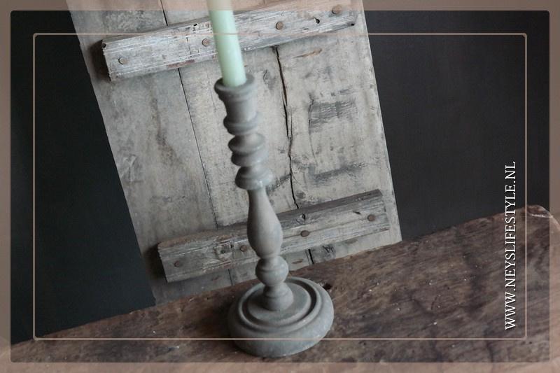 Kandelaar Sturdy | grey