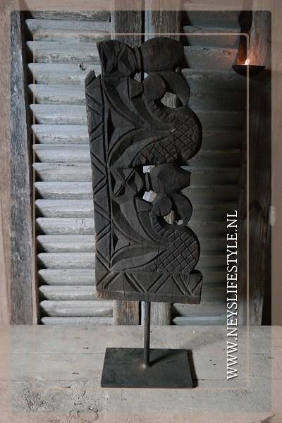 Ornament houtsnijwerk | 1