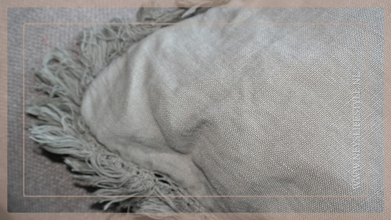 Kussen linnen 45 x 45 cm | olijfgroen
