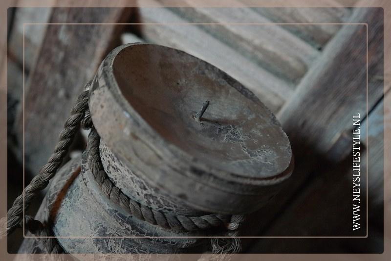 Kandelaar waterkruik | grey finish