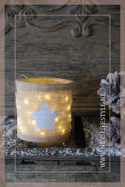 Windlicht Star led  | S