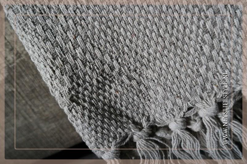 Plaid  Riva 170 x 130 cm   naturel