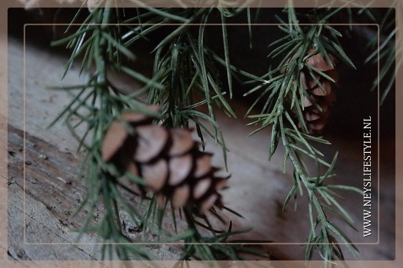 Dennentak pine kunst | 119 cm