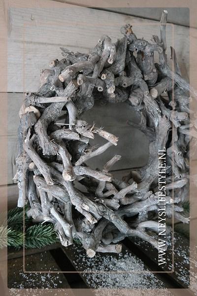 Krans grapewood |  40 cm
