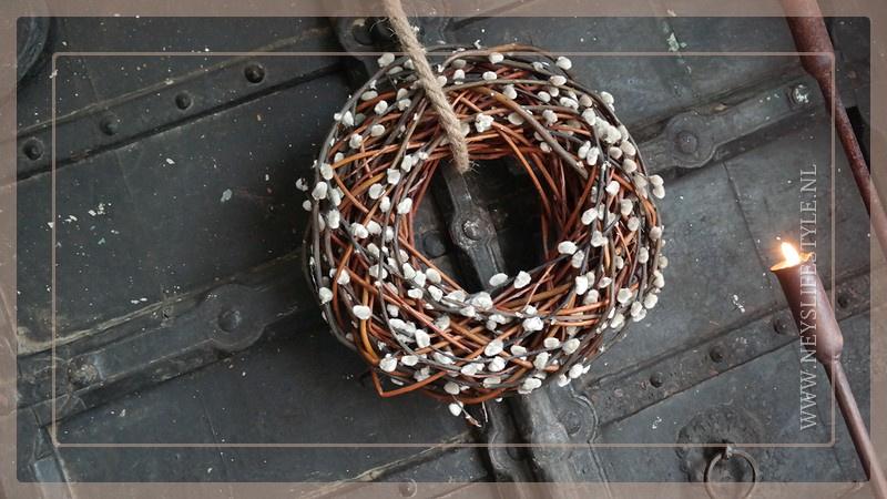 Krans katjes | 35 cm