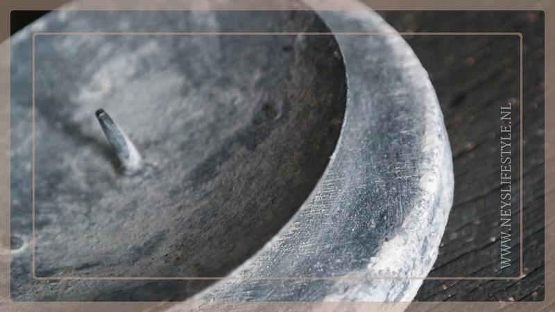 Kaars kandelaar | greywash