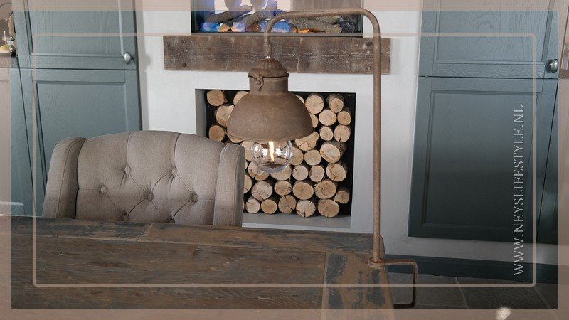 Tafel klemlamp LED Corry | roest