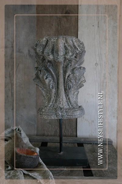 Ornament  Console op voet | 40 cm
