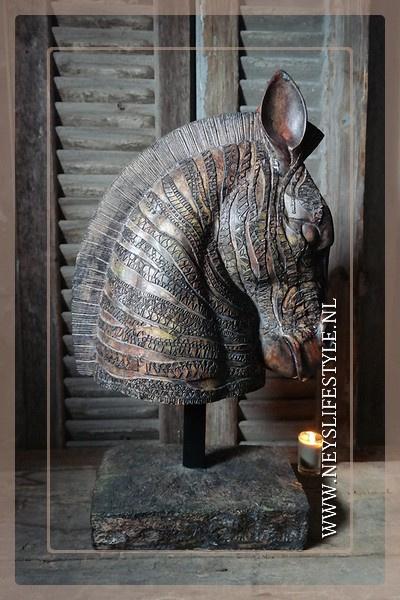 Paard Runas | gold