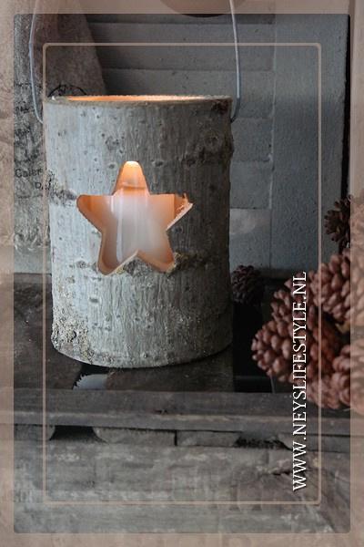 Lantaarn hout |  Star