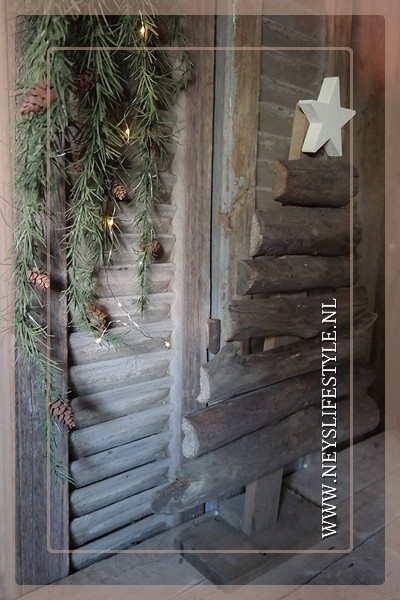 Kerstboom driftwood | S