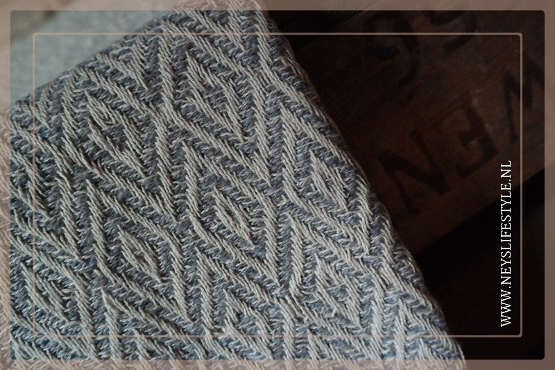 Plaid grafisch 170 x 130 cm| grey