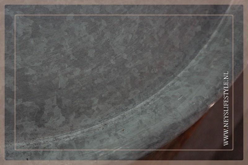 Dienblad zink | rond