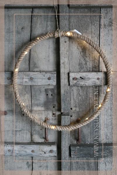 LED hanger ring touw | S