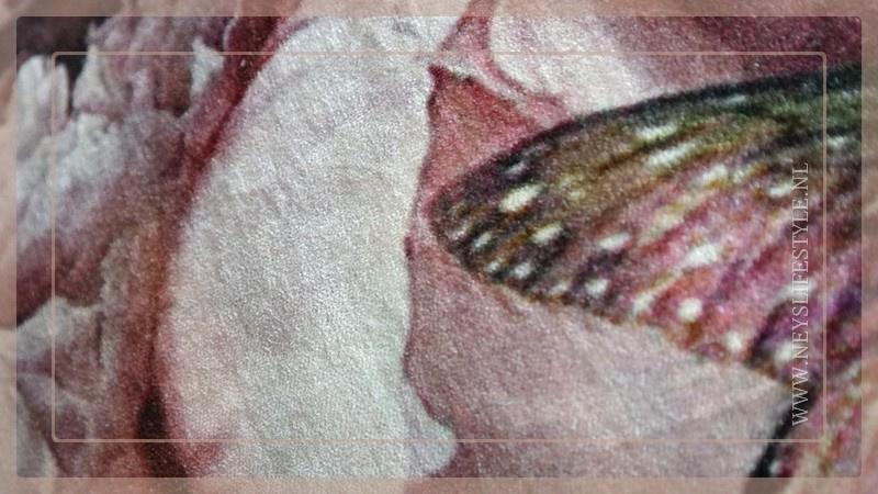 Kussen fluweel 40 x 60 cm | pioenroos