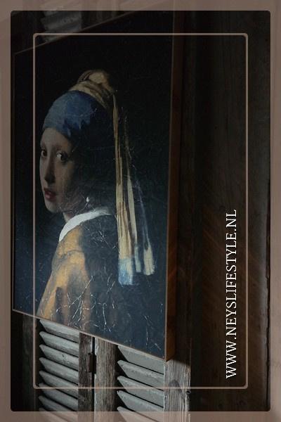 Meisje met de Parel | Wanddecoratie