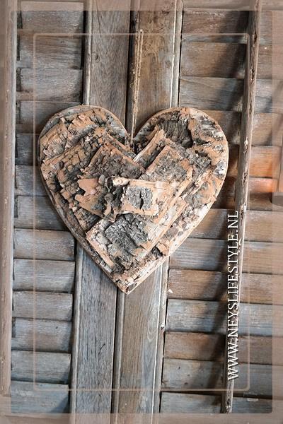 Krans hart wood | 30 cm