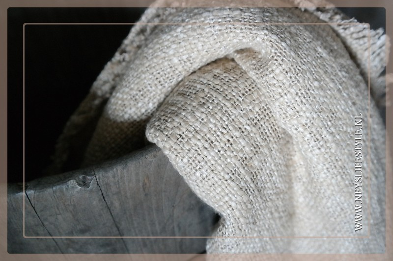 Plaid katoen geweven | wit