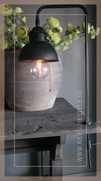 Tafel klemlamp LED Corry | zwart