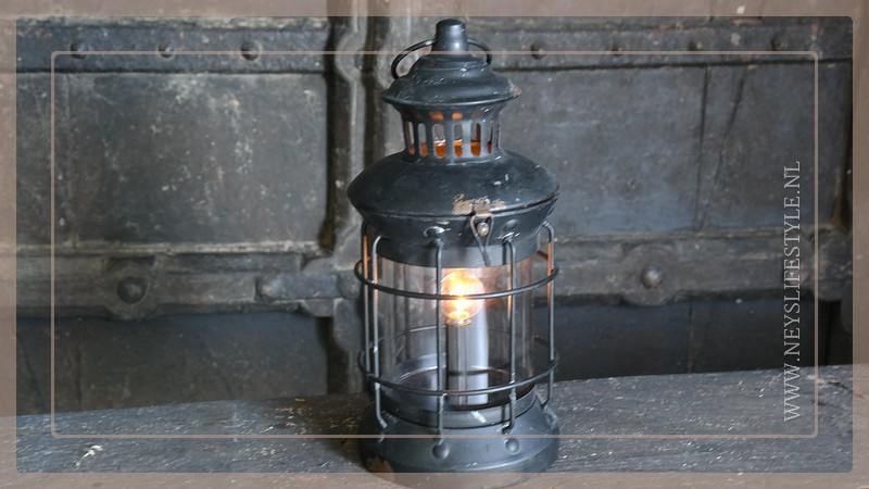Lantaarn Linda LED | zwart