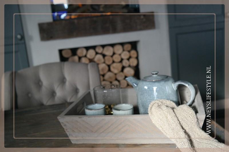 Dienblad hout Ziggo | grey
