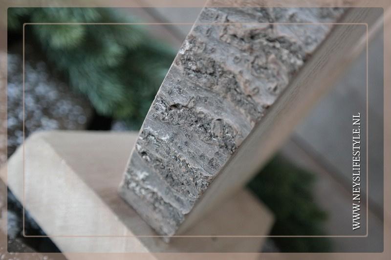 Ornament wood slice | Star