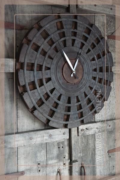Klok spinnenwiel | 50-55 cm