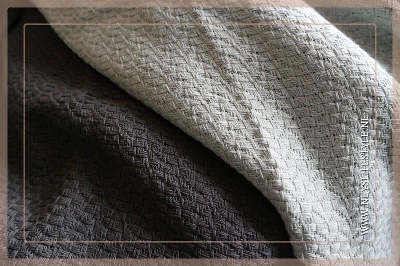 Plaid Zara 170 x 130 cm | light grey