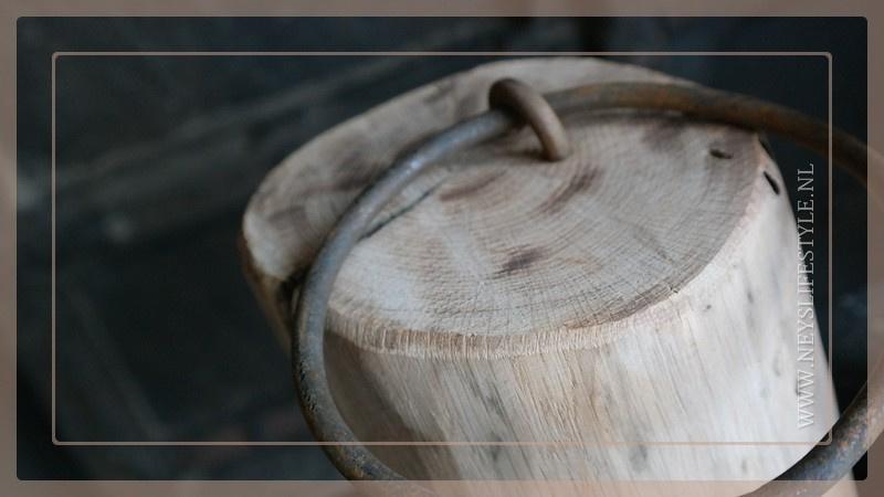 Deurstop hout