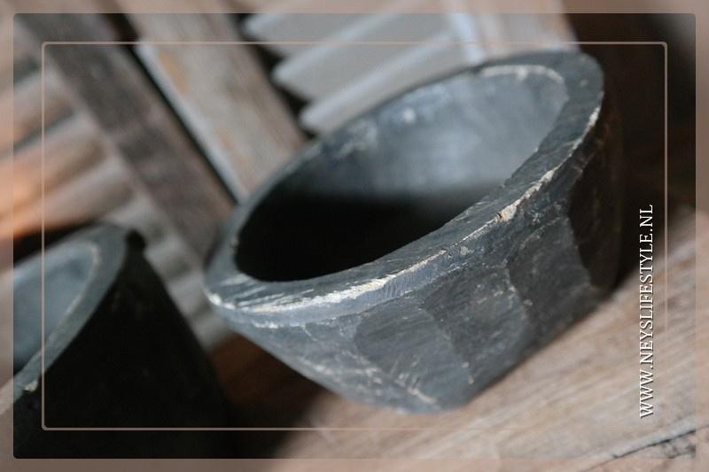 Stenen pot | 15-20 cm