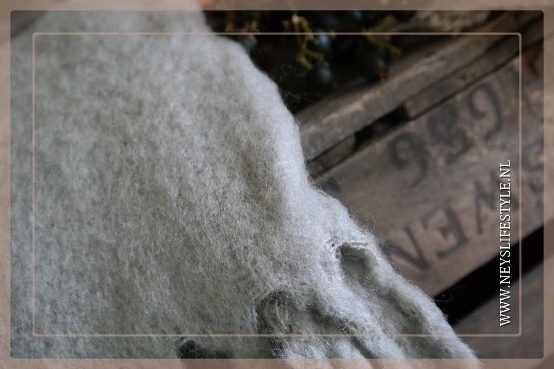 Plaid acryl | beige 130 x 170 cm
