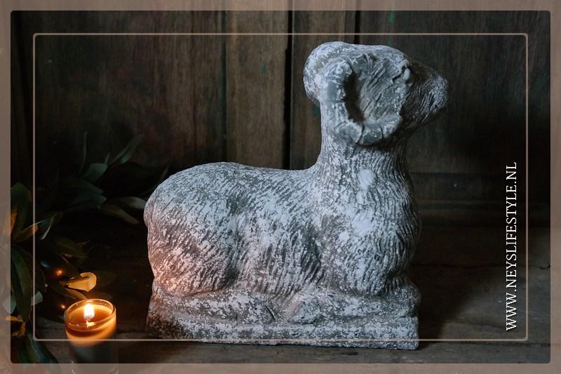 Stenen ram greywash | M