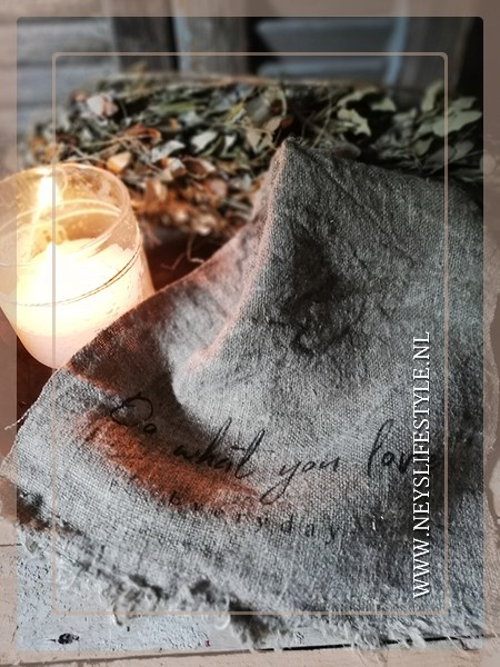 Linnen doek shabby | Do what you love