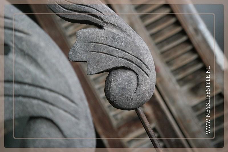 Ornament Curly | grey