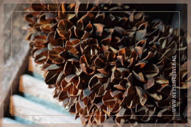 Krans Bakulli | naturel | 45 cm