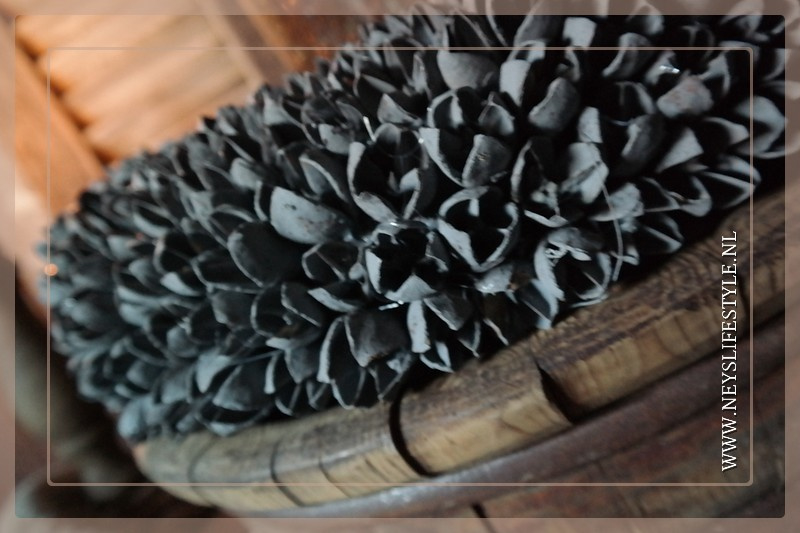 Krans Bakulli | grey | 45 cm