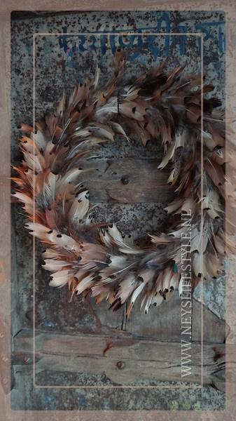 Veren krans fazant | 40 cm