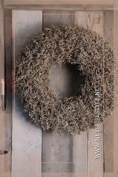Krans Dry tree naturel |  65 cm