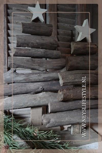 Kerstboom driftwood | M