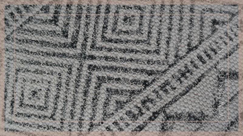 Kussen zigzag 55 x 55 cm  