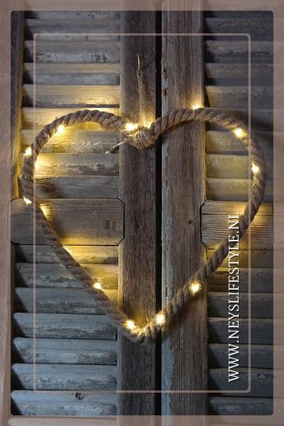 LED figuur touw | Hart