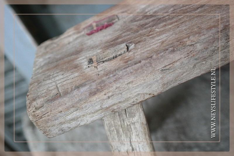 Vensterbank krukje hout